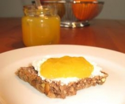 Ananas-Mango-Orangen-Marmelade