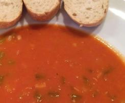 Serbische Bohnensuppe (mit oder ohne Fleisch)