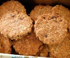 Dinkel-Hafer-Cookies