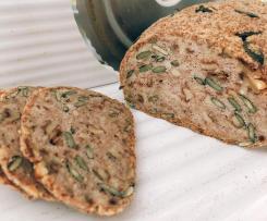 Mandel-Brot / Protein-Brot (vegan / glutenfrei / paleo / low-carb)