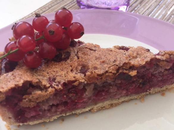 Johannisbeer Baiser Kuchen Schwabischer Traubleskuchen Von Lobibi
