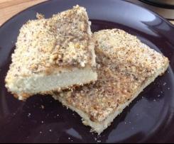 Buttermilch-Nuss Kuchen