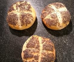 Mohnbrötchen die Besten (schwedisches Rezept)