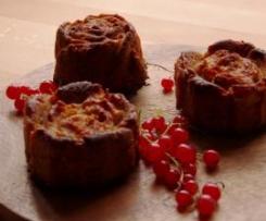 Möhren-Johannisbeer-Muffins