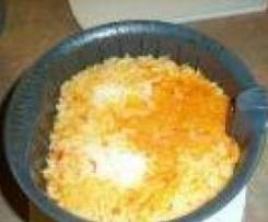 gladdy88: Paprika-Reis mit Tomaten-Chili oder Tomaten-Sahne Sauce