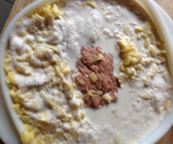 Hackbraten mit Kartoffelgratin (all in one)