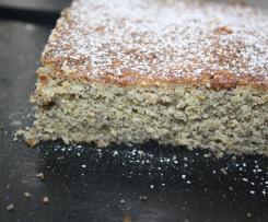 Mohnkuchen vom Blech