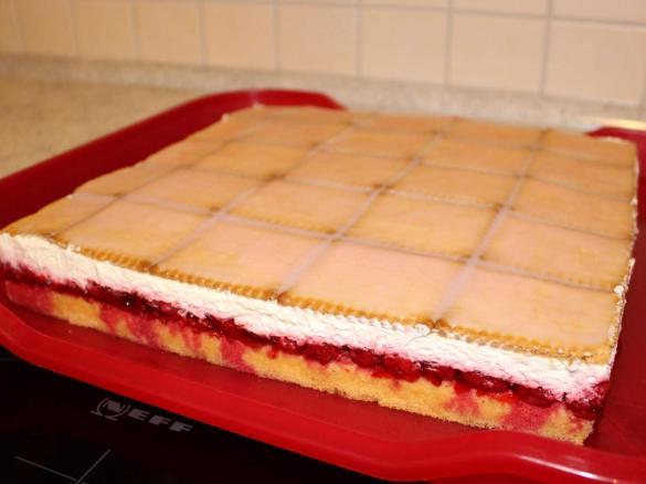 Himbeer Butterkeks Kuchen Von Andrear Ein Thermomix Rezept Aus