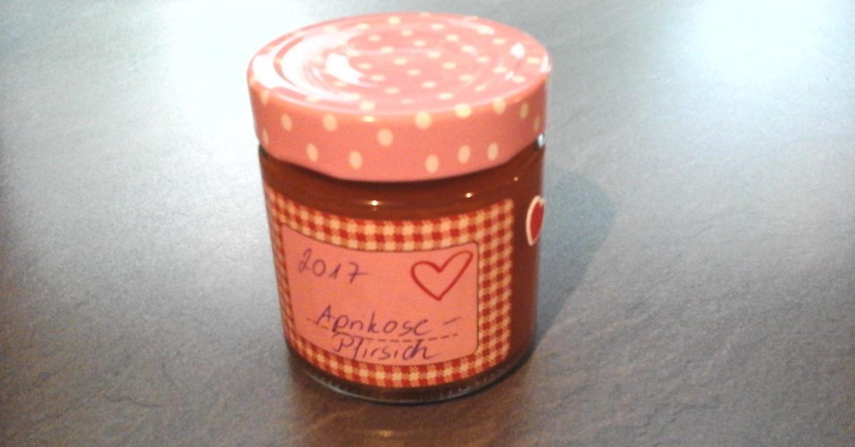 aprikosen pfirsich marmelade von zendler ein thermomix. Black Bedroom Furniture Sets. Home Design Ideas