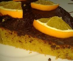Orangenkuchen /  Appelsinkage