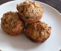 Bananenmuffins, lecker&vegan
