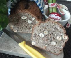 schnelles Dinkel- Buchweizen- Brot