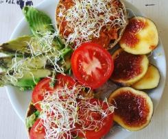 Veganer Kichererbsen Tomaten Aufstrich