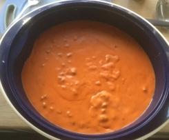 Tomatensoße à la Mama Helga (mit Fleisch / vegetarisch / vegan)