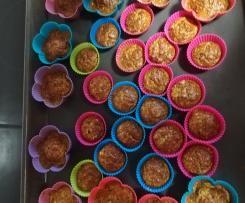 Zucchini Mandel Muffins low carb