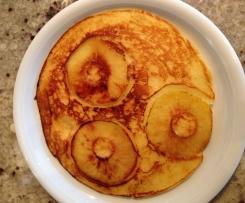 Apfelpfannkuchen glutenfrei