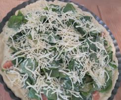 Lachs-Spinat-Quiche