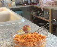 Variation Möhren-Apfel-Salat