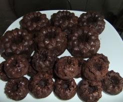 Schoko-Mini-Gugelhupfe - Gugelhüpferchen - Muffins - Kleingebäck