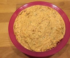 Variation Fetacreme / Schafskäseaufstrich mit Oliven