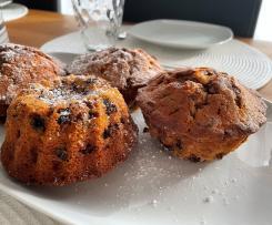 Cranberry - Schoko Muffins / Mini Gugelhupf