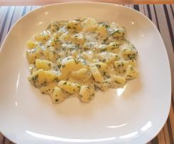 Variation Gestovte Kartoffeln