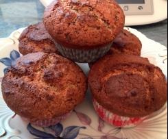 Schokoladen-Nuss-Muffins