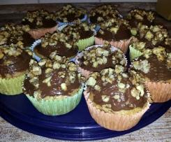 Saftige Muffins mit Walnüsse