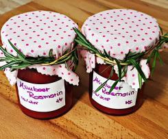 Himbeer-Rosmarin Marmelade à la Frieda