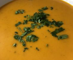 Südafrikanische - Butternut Crèmesuppe