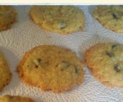 Cookies ohne Ei und mit Ei