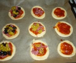 Mini - Pizza für jeden Geschmack ( Pizze piccole ) Rezept