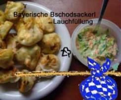 Bschoadsackerl mit Lauchfüllung