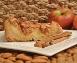 Frischkäse Apfelkuchen mit Zimt