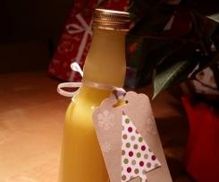 Linda's milder Orangen-Eierlikör - schön weihnachtlich