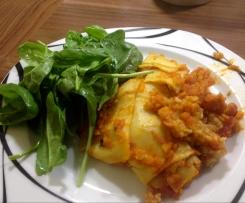 Kürbis-Lasagne, vegan, glutenfrei