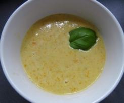 Karotten-Grünkern-Suppe