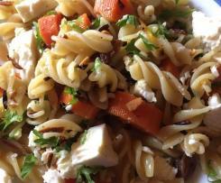 Möhren-Pasta Orientalisch