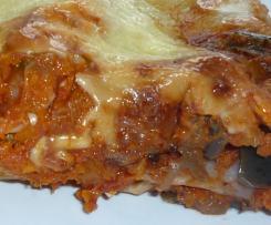 Lasagne mit Aubergine und Ricotta (vegetarisch)