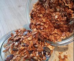 Kokos-Mandel-Granola