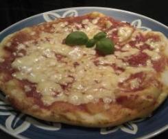 Pizzateig wie aus der Pizzeria