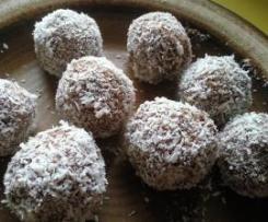 Schwedische Kokos-Haferbällchen (Kokosbollar)