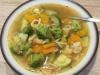 schnelle Gemüsesuppe mit Nudeln