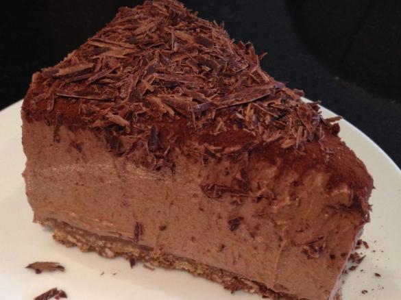 Schokoladen Cheesecake Blitzschnell Von Voodoofrau Ein Thermomix