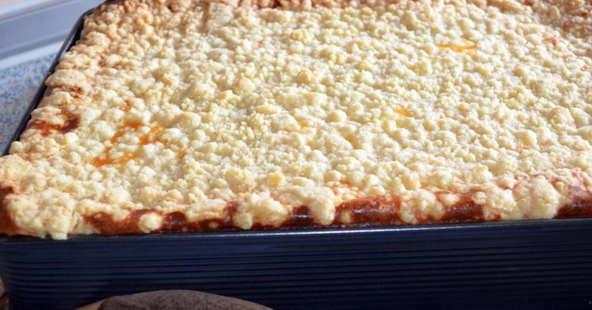 Quark Mohnkuchen Mit Streusel Vom Blech Von Littlenurse75 Ein