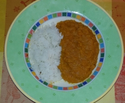 Linsen-Curry (vegan)