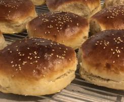 Dinkel-Burger-Buns