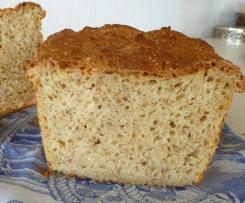Brot mit Sesam und Buttermilch
