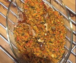 Schnitzel mit Paprikakruste