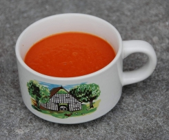 Natürliche Tomatensuppe